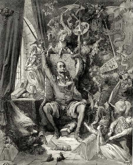 Don Quijote. Gustave Doré (1832–1883)